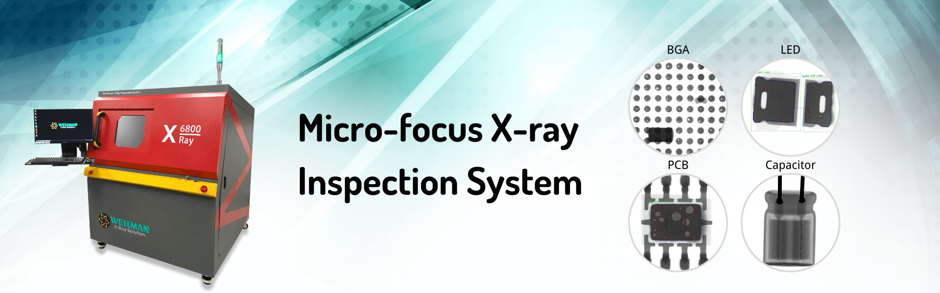 Microfocus X-ray inspection system