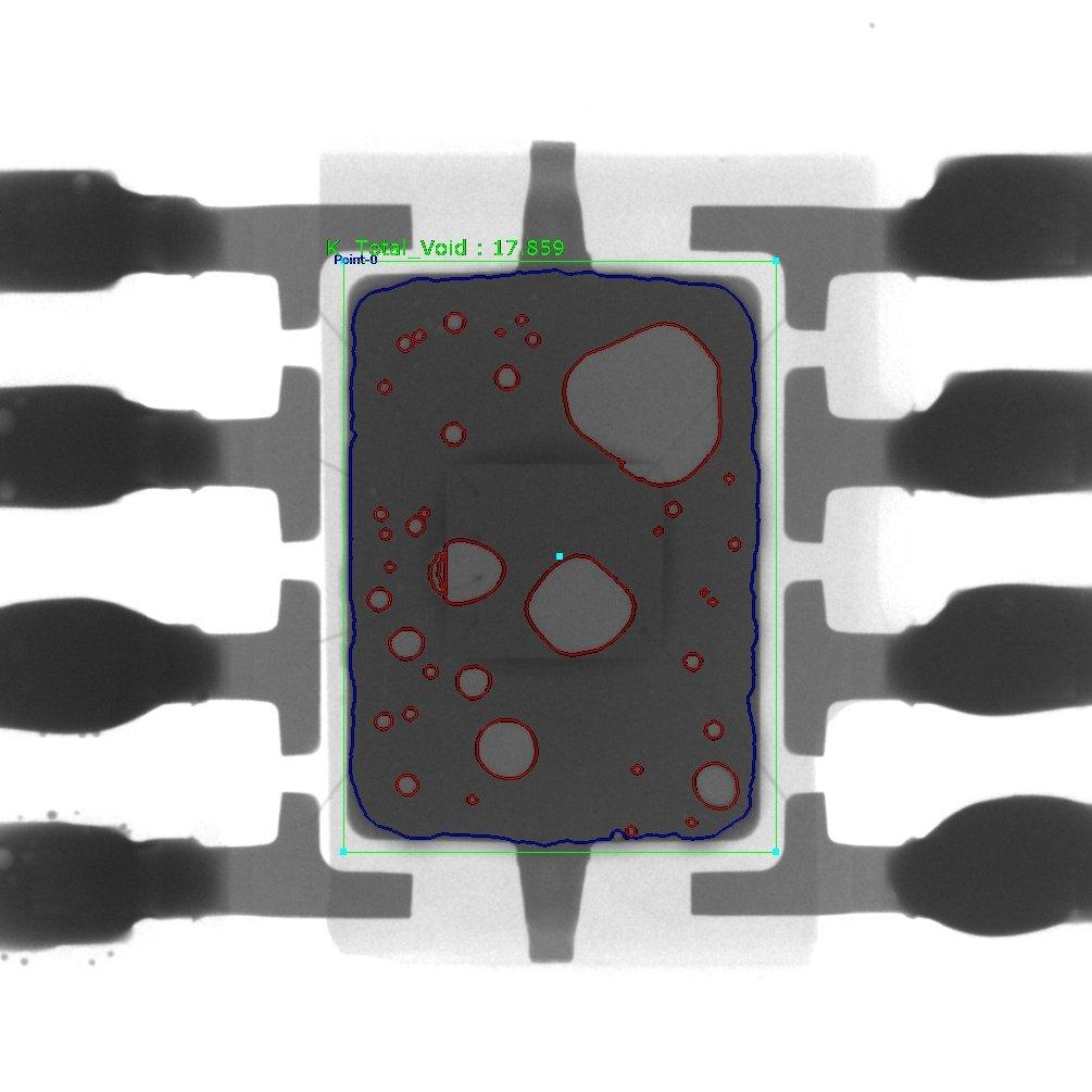 QFP solder voids