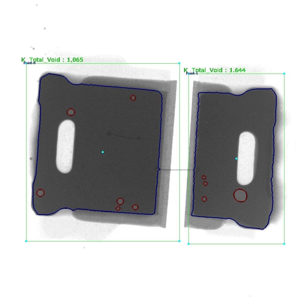 LED solder voids
