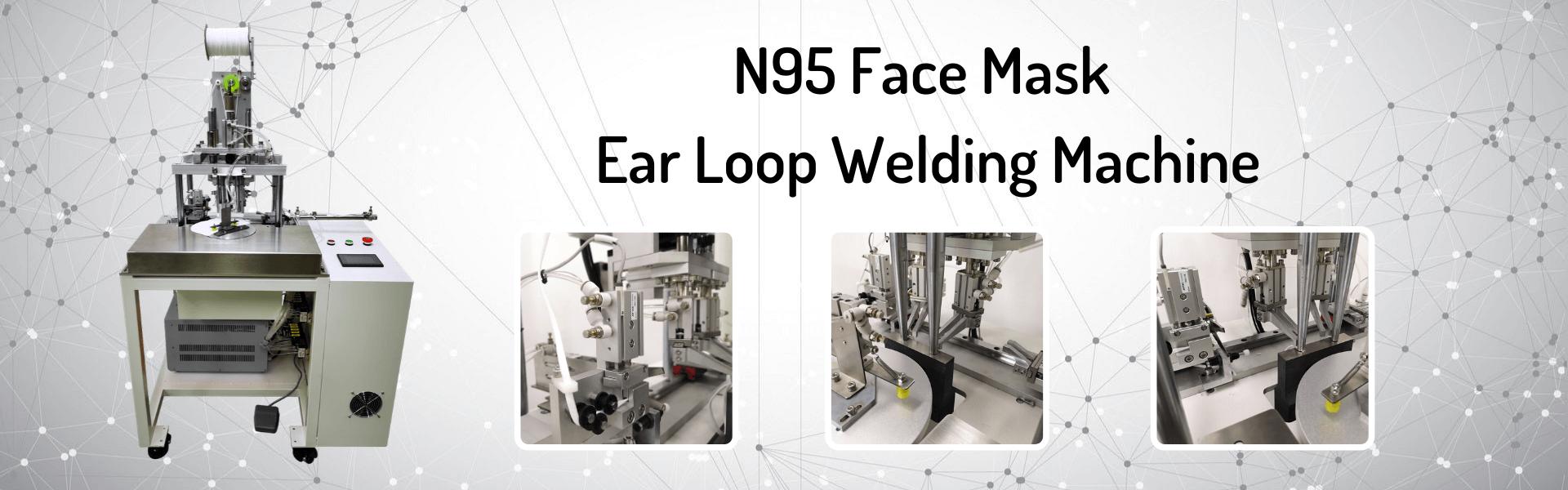 N95 Face Mask Ear Loop Welding Machine