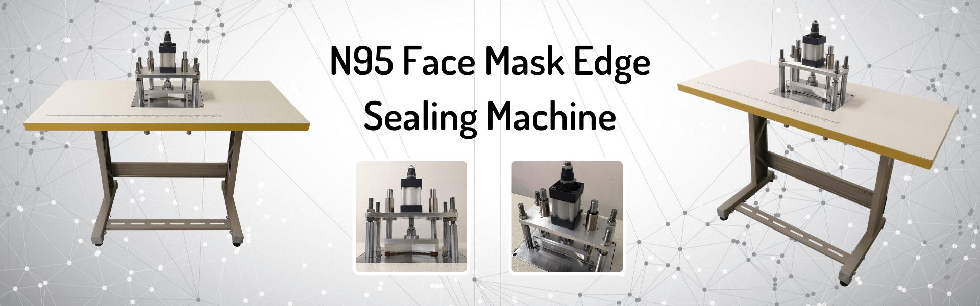 N95 face mask edge sealing machine